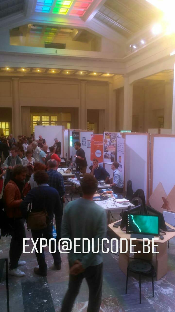 Workshop conducted at EduCODE Belgium